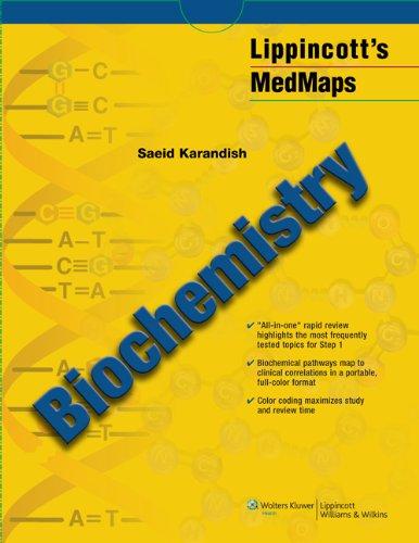 9781608311699: Biochemistry Map (Lippincott's MedMaps)