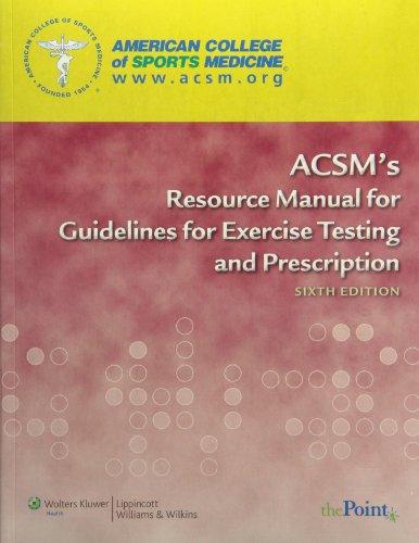 9781608312481: ACSM HFI/ES CERTIFICATION STUDY KIT