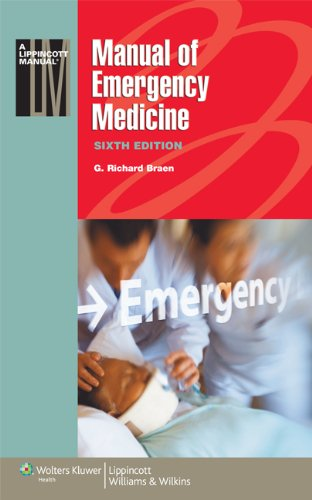 9781608312498: Manual of Emergency Medicine (Lippincott Manual Series (Formerly known as the Spiral Manual Series))
