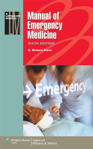 9781608312498: Manual of Emergency Medicine (Lippincott Manual Series)