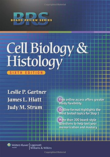 9781608313211: BRS Cell Biology And Histology (Board Review Series)