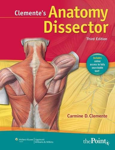 9781608313846: Clemente's Anatomy Dissector