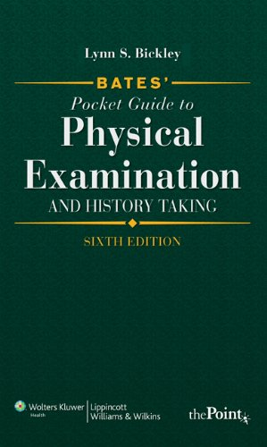 9781608315420: Bates' Pocket Guide to Physical Examination and History Taking, International Edition