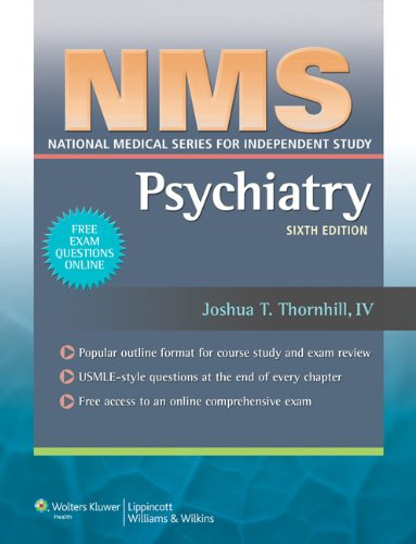 9781608315741: NMS Psychiatry (National Medical Series for Independent Study)