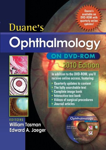 9781608315925: Duane's Ophthalmology on DVD-ROM