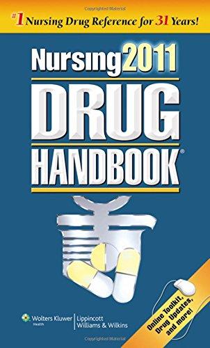 9781608316144: Nursing 2011 Drug Handbook with Online Toolkit (Nursing Drug Handbook)