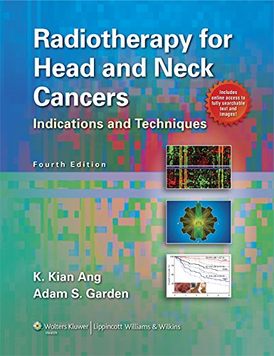 Radiotherapy for Head and Neck Cancers: Indications: Ang MD PhD,