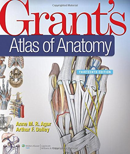 9781608317561: Grant's Atlas of Anatomy, 13th Edition