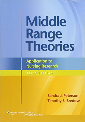 9781608318001: Middle Range Theories: Application to Nursing Research (Peterson, Middle Range Theories)