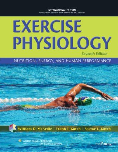 9781608318599: Exercise Physiology - 7ª Edition