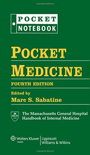 9781608319053: Pocket Medicine: The Massachusetts General Hospital Handbook of Internal Medicine, 4th Edition (Pocket Notebook)