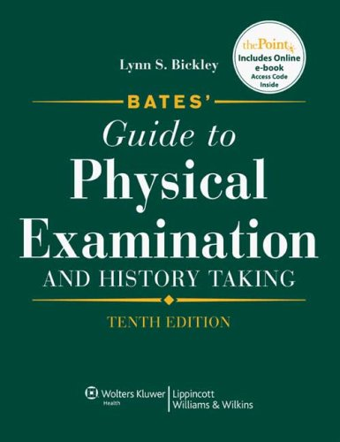 9781608319541: Bates' Guide to Physical Examination and History Taking