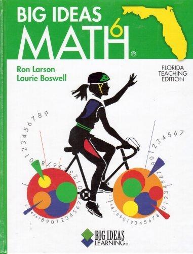 9781608400034: Big Ideas Math 6