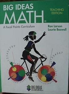 9781608400164: Big Ideas MATH: Teacher's Edition Green 2010