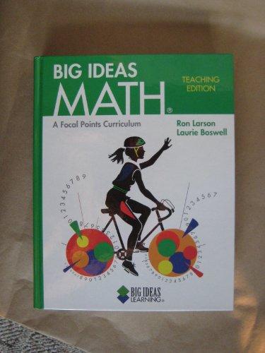 9781608400188: Big Ideas Math A Focal Points Curriculum Teaching Edition