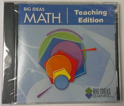 9781608400935: Big Ideas Math Teaching Edition (Blue)