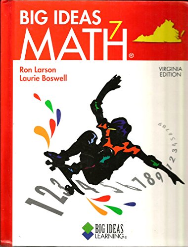Big Ideas Math 7 Virginia Edition: Ron Larson, Laurie Boswell