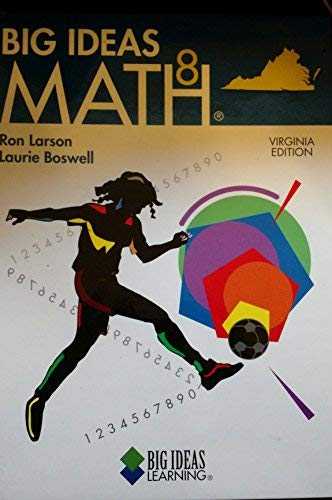 9781608401710: Big Ideas Math 8 (Virginia Edition, Blue)