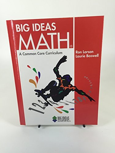 9781608402274: Big Ideas Math a Common Core Curriculum (Red)