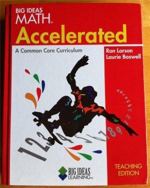 Big Ideas Math: Accelerated, A Common Core: MCDOUGAL, HOLT
