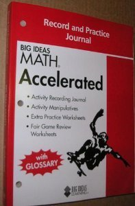 9781608403011 Big Ideas Math Record Practice Journal Accelerated