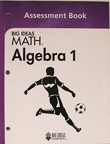 9781608403127: Big Ideas MATH: Assessment Book Algebra 1