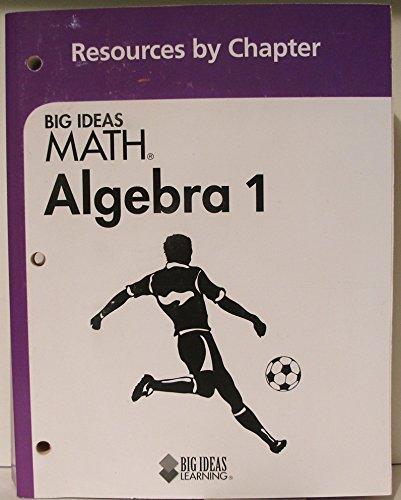 9781608403134: Big Ideas MATH: Resource by Chapter Algebra 1