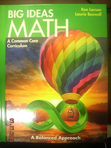 9781608404490: BIG IDEAS MATH: Common Core Student Edition Green 2014