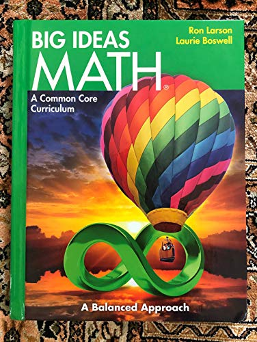 9781608404490: BIG IDEAS MATH: Common Core Student Edition Green 2014
