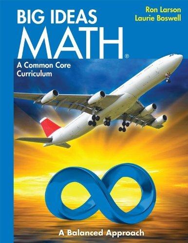 9781608404513: BIG IDEAS MATH: Common Core Student Edition Blue 2014