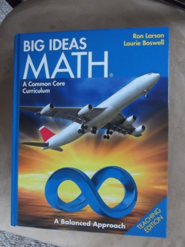 9781608404582: BIG IDEAS MATH: Common Core Teacher Edition Blue 2014