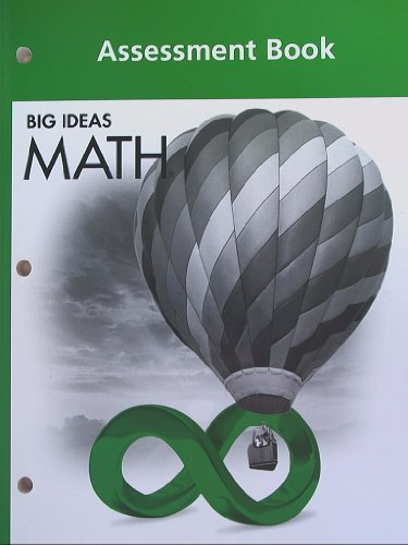 9781608404704: BIG IDEAS MATH: Assessment Book Green/Course 1