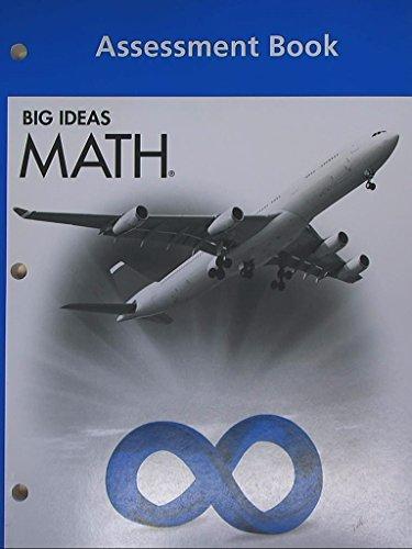 9781608404728: BIG IDEAS MATH: Assessment Book Blue/Course 3