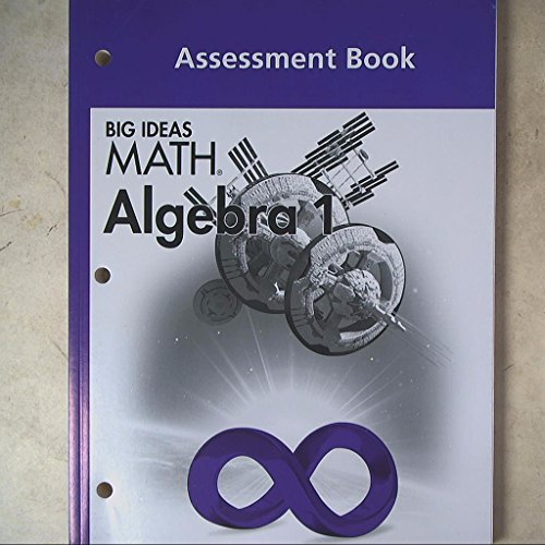 9781608404735: BIG IDEAS MATH Algebra 1: Common Core Assessment Book