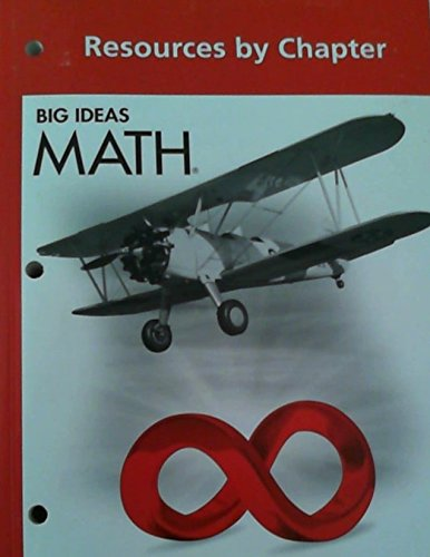 9781608404759: Big Ideas MATH: Common Core Resources by Chapter Red