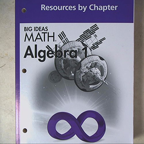 9781608404773: BIG IDEAS MATH Algebra 1: Common Core Resources by Chapter