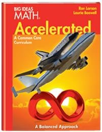 BIG IDEAS MATH Accelerated: Student Edition Red: HOUGHTON MIFFLIN HARCOURT