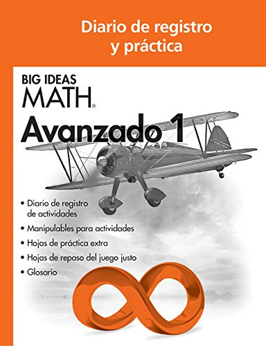 9781608405299: Big Ideas MATH: Common Core Record & Practice Journal Advanced 1