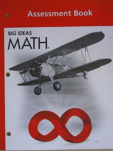 9781608405336: BIG IDEAS MATH: Assessment Book Red/Course 2