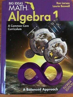 9781608405497: Big Ideas Math Algebra 1 by Ron Larson (2015-08-02)