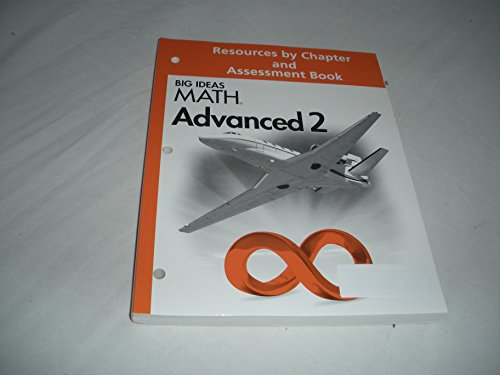 9781608405787: Big Ideas Math Advanced 2 Resources by Chapter and