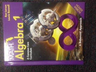 9781608405947: Big Ideas Math Algebra 1: A Common Core Curriculum A Balanced Approach Florida Teacher Edition