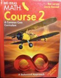9781608406708: Larson BIG IDEAS California: Student Edition Course 2 2015