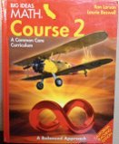 BIG IDEAS MATH California: Teacher Edition Course 2 2015: HARCOURT, HOUGHTON MIFFLIN
