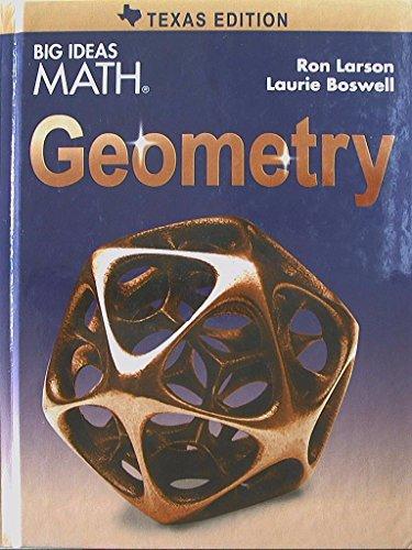9781608408153: Big Ideas MATH, Geometry, Texas Edition, 9781608408153, 1608408159