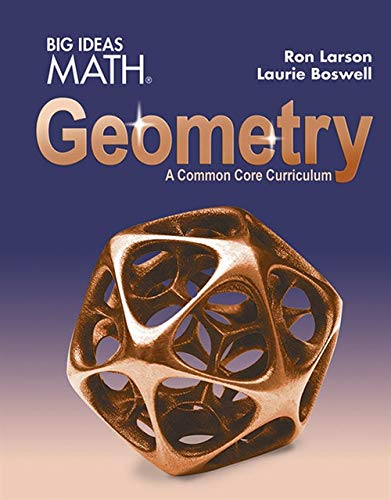 BIG IDEAS MATH Geometry: Common Core Student Edition 2015: HARCOURT, HOUGHTON MIFFLIN