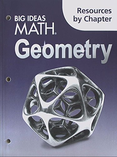 Big Ideas Math Geometry Resources by Chapter