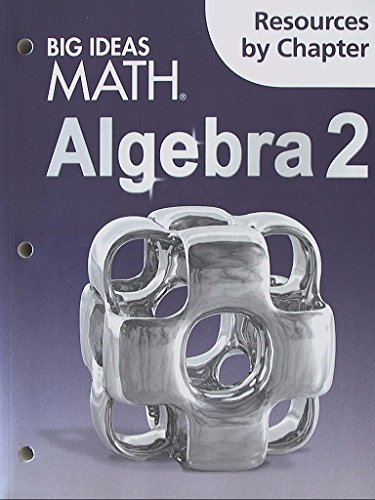 9781608408603: Big Ideas Math Algebra 2: Resources by Chapter