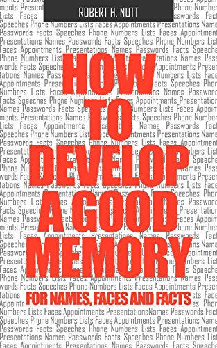 9781608420063: How to Develop a Good Memory for Names, Faces, and Facts