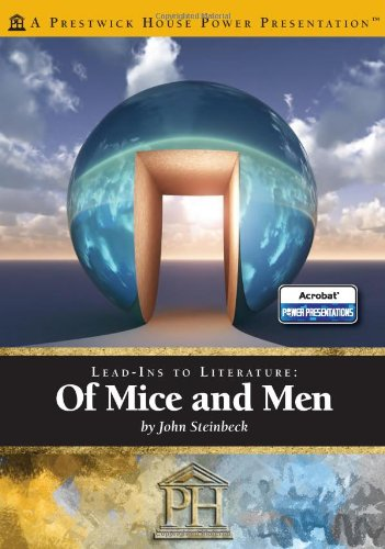 9781608437559: Of Mice and Men - Prestwick Power Presentations: Lead-Ins to Literature